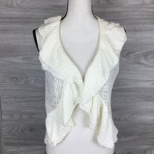 Lauren Ralph Lauren Lace Shrugs Sweater